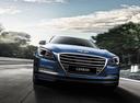 Фото авто Hyundai Genesis 2 поколение,  цвет: синий