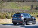 Фото авто Mazda CX-5 2 поколение, ракурс: 225 цвет: серый