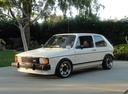 Фото авто Volkswagen Rabbit 1 поколение [рестайлинг], ракурс: 45