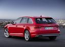 Фото авто Audi A4 B9, ракурс: 135 цвет: красный
