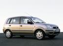 Фото авто Ford Fusion 1 поколение, ракурс: 270 цвет: серебряный