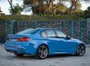Фото авто BMW M3 F80, ракурс: 225 цвет: голубой