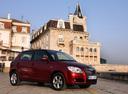 Фото авто Skoda Fabia 5J, ракурс: 315 цвет: красный