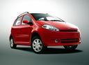 Фото авто Chery Kimo 1 поколение, ракурс: 315 цвет: оранжевый
