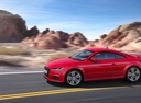 Фото авто Audi TT 8S [рестайлинг], ракурс: 90 цвет: красный
