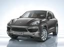 Фото авто Porsche Cayenne 958,  цвет: серый