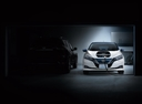 Фото авто Nissan Leaf 2 поколение,  цвет: белый