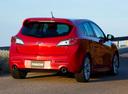 Фото авто Mazda 3 BL, ракурс: 225 цвет: красный
