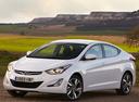 Фото авто Hyundai Elantra MD [рестайлинг], ракурс: 45 цвет: белый