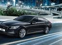 Фото авто Hyundai Genesis 2 поколение, ракурс: 45 цвет: черный