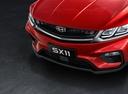 Фото авто Geely SX11 1 поколение, ракурс: передняя часть цвет: красный