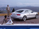 Фото авто Audi A5 8T, ракурс: 225 цвет: серебряный