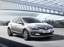 Фото авто Renault Megane 3 поколение [2-й рестайлинг], ракурс: 315 цвет: серебряный