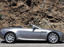 Фото авто Aston Martin Vantage 3 поколение [2-й рестайлинг], ракурс: 270 цвет: серый