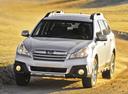Фото авто Subaru Outback 4 поколение [рестайлинг],  цвет: серебряный