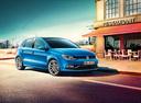 Фото авто Volkswagen Polo 5 поколение [рестайлинг], ракурс: 315 цвет: синий