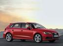 Фото авто Audi A3 8V, ракурс: 315 цвет: красный