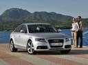 Фото авто Audi A4 B8/8K, ракурс: 315 цвет: серебряный