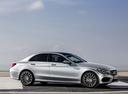 Фото авто Mercedes-Benz C-Класс W205/S205/C205, ракурс: 270 цвет: серебряный