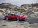 Фото авто Porsche 911 991 [рестайлинг], ракурс: 270 цвет: красный