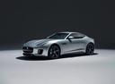 Фото авто Jaguar F-Type 1 поколение [рестайлинг], ракурс: 45 цвет: серебряный