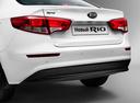 Фото авто Kia Rio 3 поколение [рестайлинг], ракурс: задняя часть цвет: белый