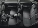 Фото авто Suzuki Baleno 2 поколение, ракурс: салон целиком цвет: серебряный
