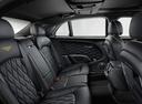 Фото авто Bentley Mulsanne 2 поколение [рестайлинг], ракурс: задние сиденья цвет: золотой