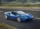 Фото авто Ferrari 488 1 поколение, ракурс: 315 цвет: синий