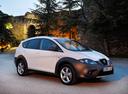Фото авто SEAT Altea 1 поколение [рестайлинг], ракурс: 315 цвет: белый