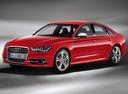 Фото авто Audi S6 C7, ракурс: 45 цвет: красный