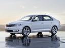 Фото авто Skoda Rapid 3 поколение, ракурс: 45 цвет: белый