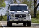 Фото авто Mercedes-Benz G-Класс W463 [рестайлинг],  цвет: серебряный