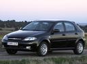 Фото авто Chevrolet Lacetti 1 поколение, ракурс: 45 цвет: черный