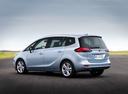 Фото авто Opel Zafira C [рестайлинг], ракурс: 135 цвет: серебряный