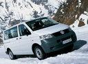 Фото авто Volkswagen Transporter T5, ракурс: 315 цвет: белый