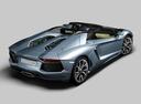 Фото авто Lamborghini Aventador 1 поколение, ракурс: 225 цвет: серый