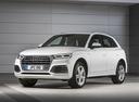 Фото авто Audi Q5 2 поколение, ракурс: 45 цвет: белый