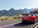 Фото авто Jaguar F-Type 1 поколение [рестайлинг], ракурс: 225 цвет: красный