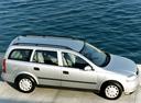 Фото авто Opel Astra G, ракурс: 270 цвет: серебряный