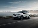 Фото авто Renault Kaptur 1 поколение, ракурс: 45 цвет: белый