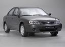Фото авто Kia Spectra 1 поколение [рестайлинг], ракурс: 315 цвет: серый