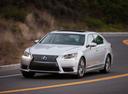 Фото авто Lexus LS 4 поколение [2-й рестайлинг], ракурс: 45 цвет: белый