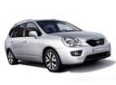 Фото авто Kia Carens 3 поколение [рестайлинг], ракурс: 315 цвет: серебряный