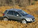 Фото авто Fiat Sedici 1 поколение [рестайлинг], ракурс: 315 цвет: серый