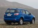 Фото авто Chevrolet TrailBlazer 2 поколение, ракурс: 225 цвет: синий