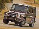 Фото авто Mercedes-Benz G-Класс W463 [2-й рестайлинг], ракурс: 45 цвет: бордовый