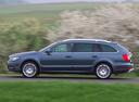Фото авто Skoda Superb 2 поколение [рестайлинг], ракурс: 90 цвет: синий