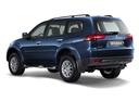 Фото авто Mitsubishi Pajero Sport 2 поколение, ракурс: 135 цвет: синий