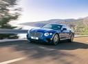 Фото авто Bentley Continental GT 3 поколение, ракурс: 45 цвет: голубой